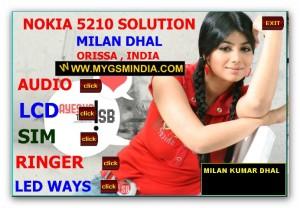 NOKIA 5210 SOLUTION