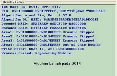 DCT 4 Mjolner BERMASALAH